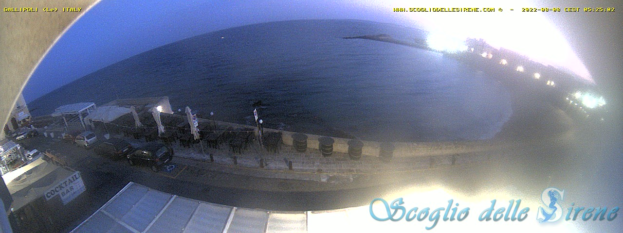 Gallipoli webcam - Gallipoli webcam, Apulia, Lecce